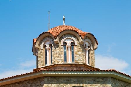 apostle paul: Greek St. Lydia first European Christian, baptistry church in Lydia, Philippi, Greece