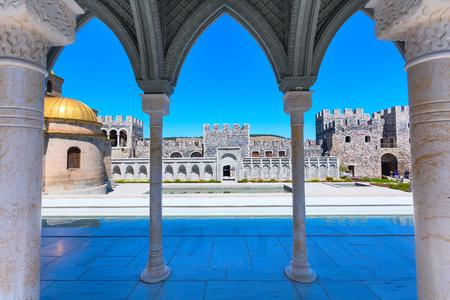 Arch wiew of the famous fortress Rabat or Rabati in Akhaltsikhe, Georgia Фото со стока