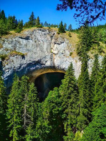 Chudnite Mostove or Wonderful Bridges natural arches, Rhodope mountains, Bulgaria Stock fotó
