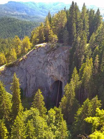 Chudnite Mostove or Wonderful Bridges natural arches, Rhodope mountains, Bulgaria
