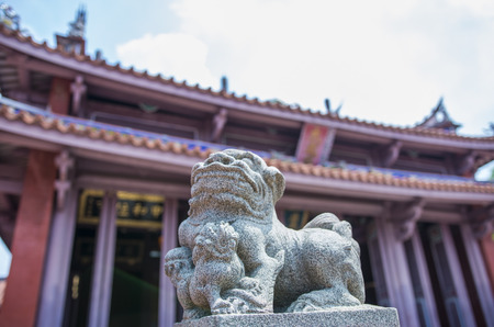 stone lion: Stone lion  Stock Photo