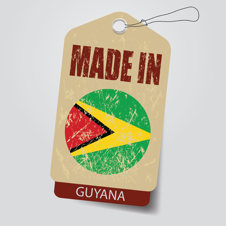 Made in Guyana . Tag .