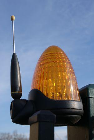 alarming: Orange l�mpara de seguridad