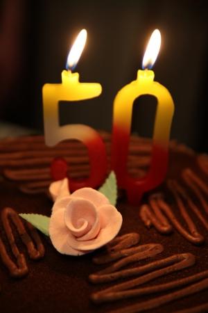 number 50: N�mero 50 en la torta