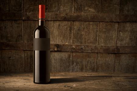 Weinglas auf Weinberg Hintergrund Standard-Bild - 38787562