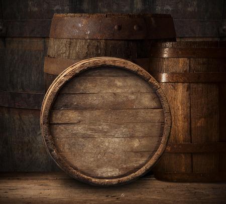 barile di legno