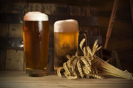 Beer vat Stockfoto