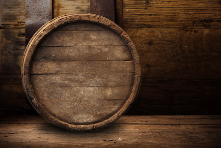 background of barrel Archivio Fotografico