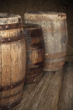 vat voor wijn en bier in de kelder