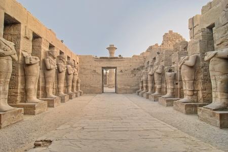 thebes: Karnak temple in Luxor, Egypt