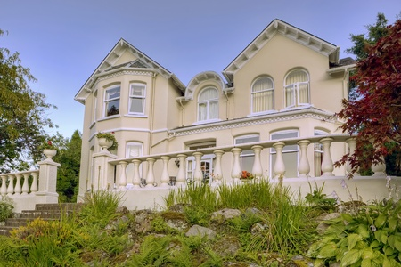 Beautiful house in Scotland, UK Stock Photo - 8430970