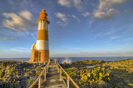 Lighthouse in Port Antonio, Jamaica Stock Photo