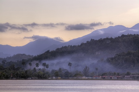 Beautiful exotic landscape, Jamaica, Caribbean