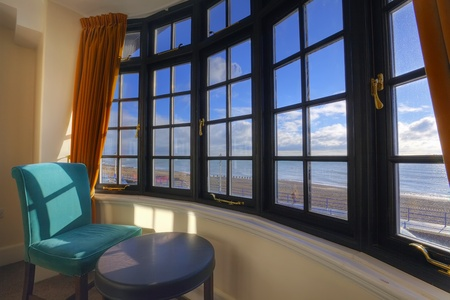 Window with a sea view Stock Photo - 11717913