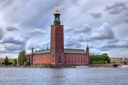 nobel: Stockholm city-hall, where Nobel dinner takes place