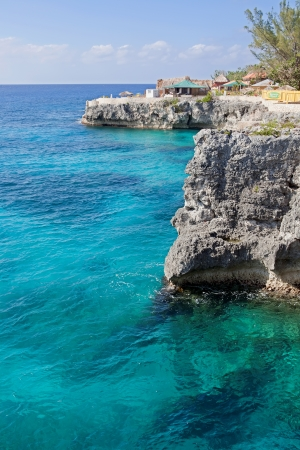 Cliffs in Negril, Jamaica