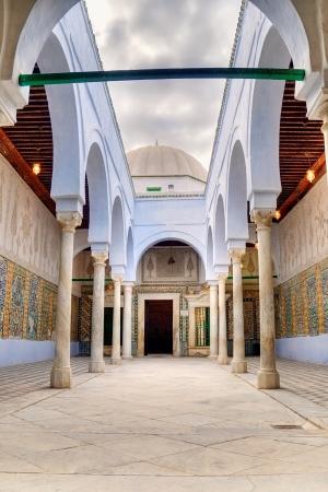 kairouan: Zaouia of Sidi Sahab in Kairouan,Tunisia, known as the Barber