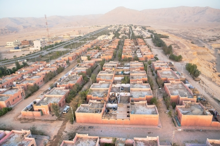 Aerial view on Luxor, Egypt Stock Photo - 18075528