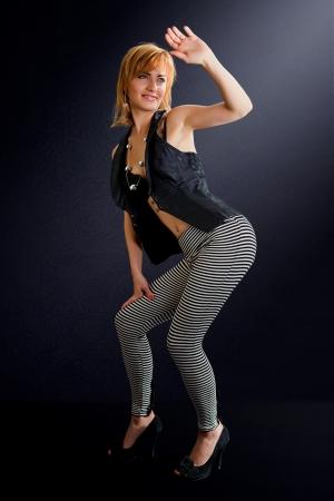 Studio Portrait einer schönen sexy Frau Standard-Bild - 18118808