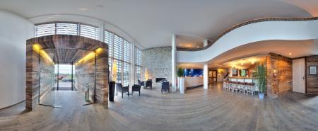Reception in contemporary elegant hotel Stock Photo - 18120281