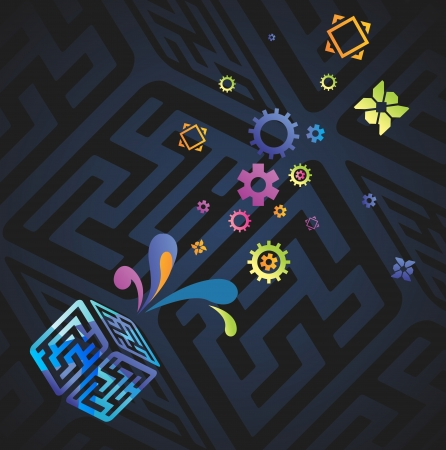 Vector network and communication background     Vector