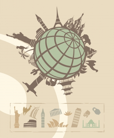 international landmark: Landmarks around the World