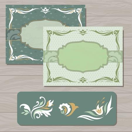 elementos de dise�o caligr�fico y decoraci�n de p�gina - elementos para el dise�o Vectores