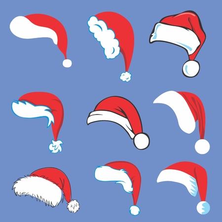 S�mbolos de la Navidad para el dise�o de invierno - tarjetas, invitaciones, fondos