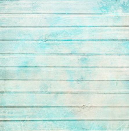 papel tapiz turquesa: Rústico fondo tablón de edad en turquesa, menta y colores beige con rayas con textura y antigua pintura agrietada para scrapbooking y decoupage Foto de archivo