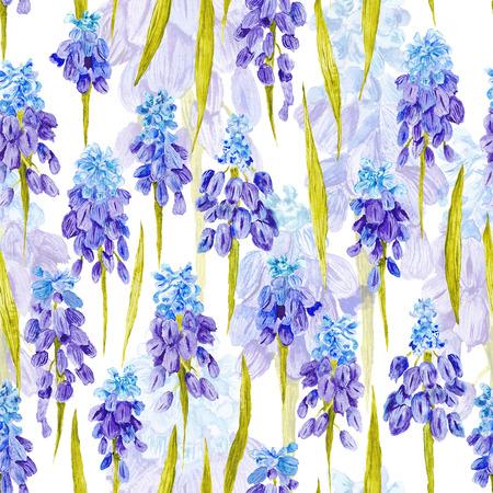 Pa�s rom�ntico incons�til del fondo pintado a mano bot�nico para la industria textil, papel pintado, dise�o de eventos, el concepto de primavera precioso