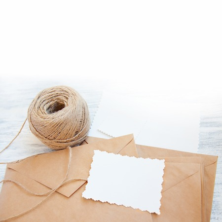 Craft Background Template Stock Photo
