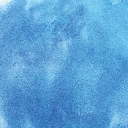 Indigo Blue Watercolor Background