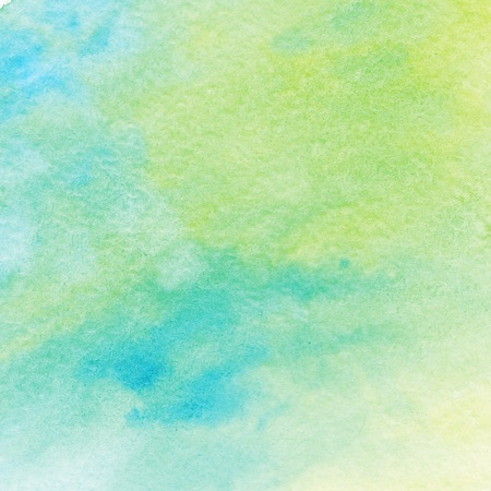Green Blue Watercolor Splash Background