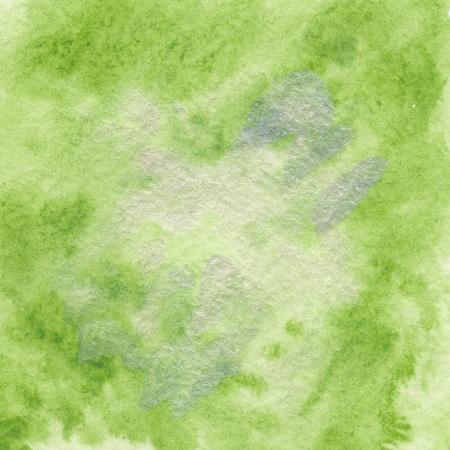 Green Watercolor Paper Texture