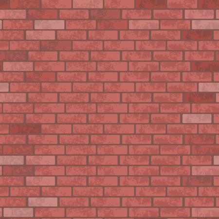 Brick wall pattern vector.