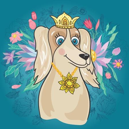 Royal Dog Image