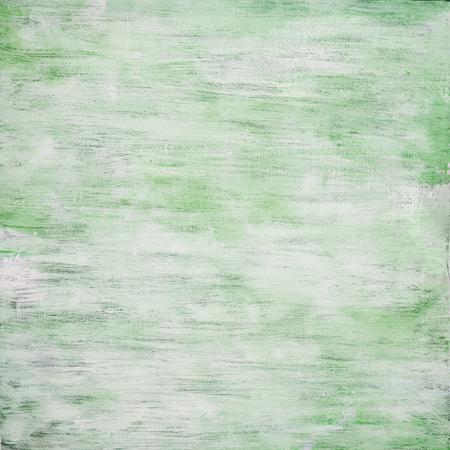 Shabby Chic Green Wood