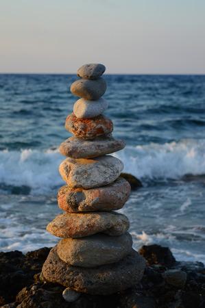 石海 (地中海) の「タワー」 写真素材