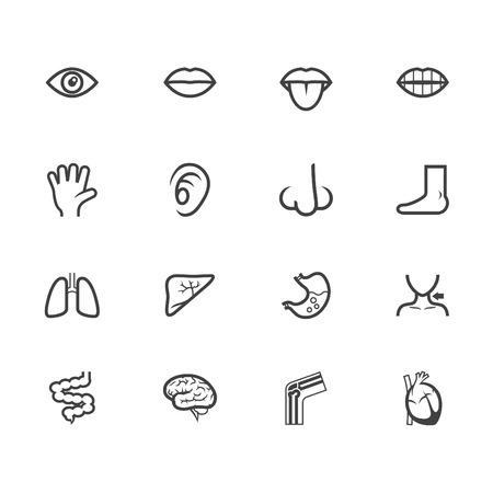 eyes: K�rper schwarz-Symbol auf wei� gesetzt