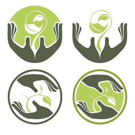 active life: Symbols of human