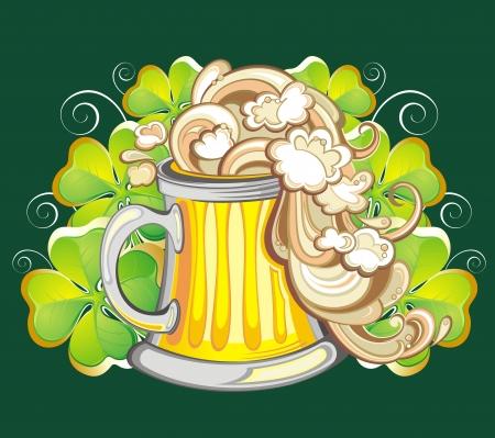 Irish beer Vector