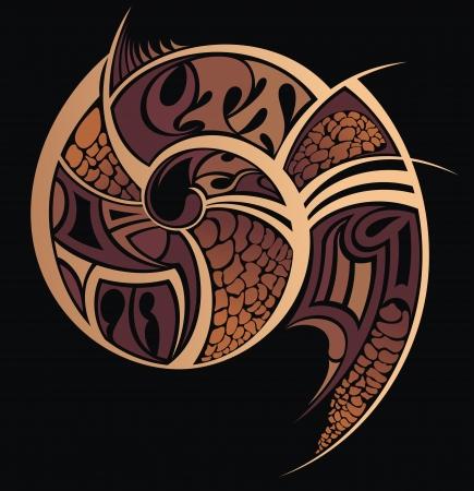 タトゥー パターン図 写真素材 - 25526292
