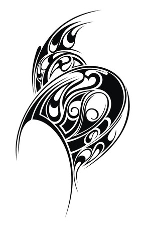 スタイルを作られたタトゥー パターン 写真素材 - 26561689