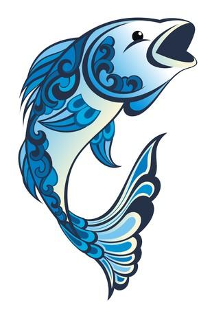 fish spa: Water fish