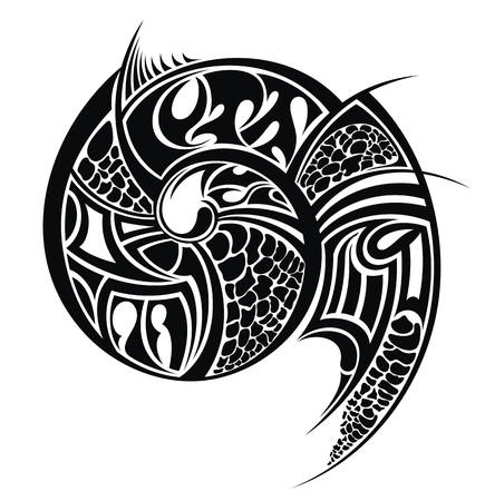 Arte tribal Foto de archivo - 26564836