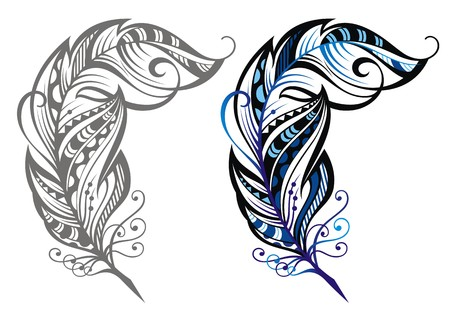 문학의: 깃털