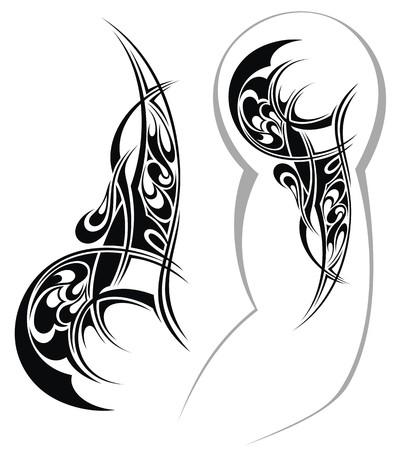 human arms: Tattoo design