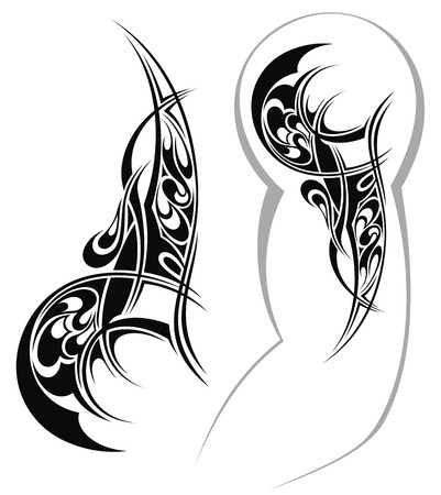 Tattoo ontwerp Stock Illustratie