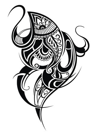 Paisley  Ethnic ornament Illustration