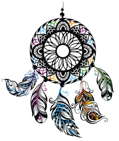 Dream Catcher, Protection, American Indians Vector